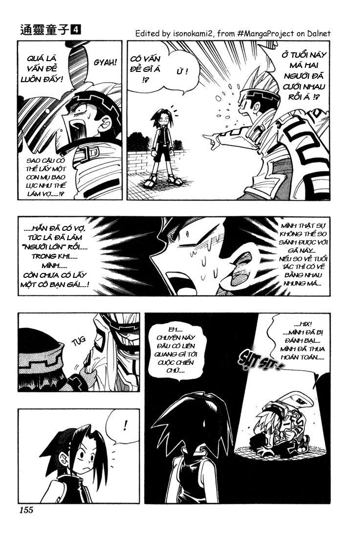 Shaman King [Vua pháp thuật] chap 34 trang 6