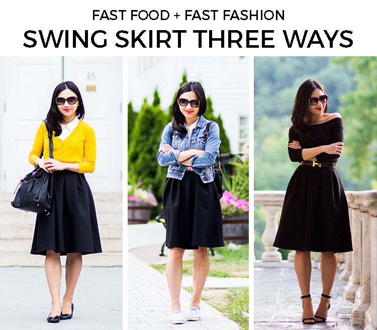 From Weekday to Weekend: Swing Skirt (Featuring the ModCloth Imperative Narrative Skirt)