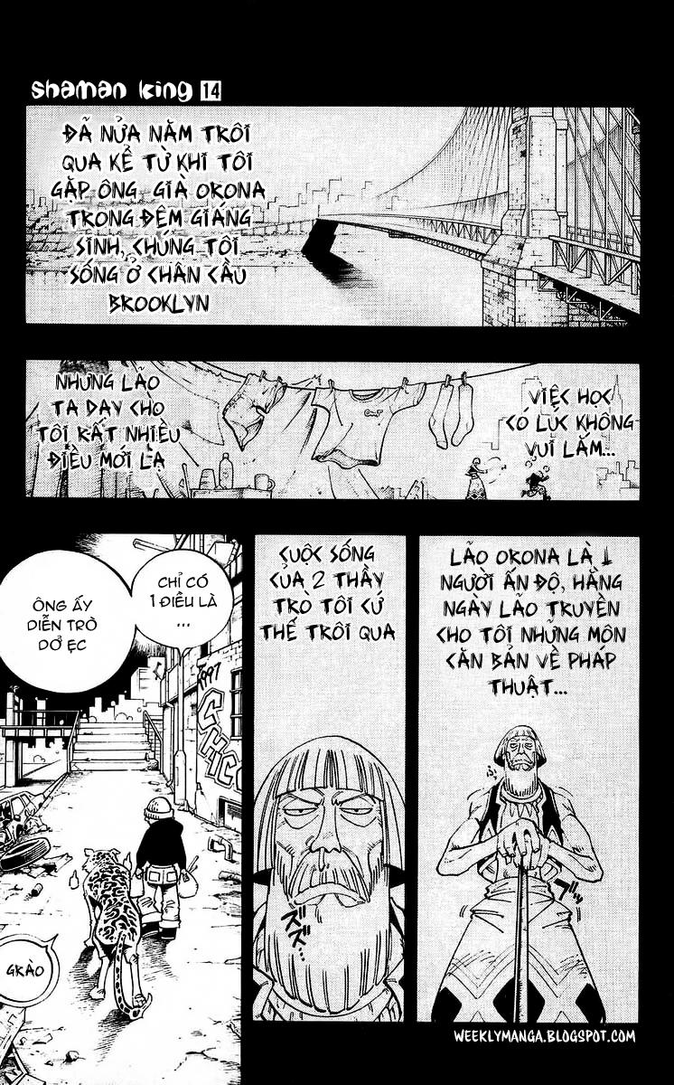 Shaman King [Vua pháp thuật] chap 117 trang 10