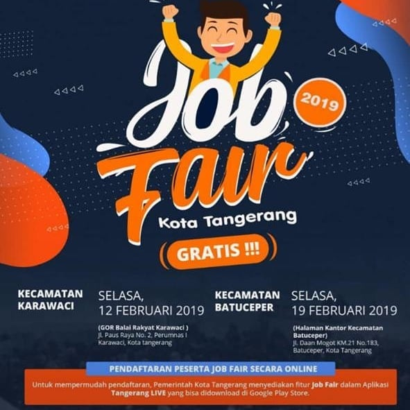 Job Fair di Tanggerang, GRATIS!!!