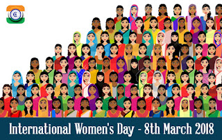 International Women's Day - 8th March 2018