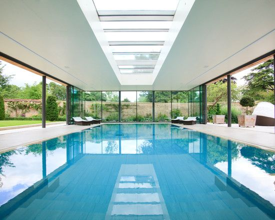 POOL GLASS PARTITION WALL BROOKLYN