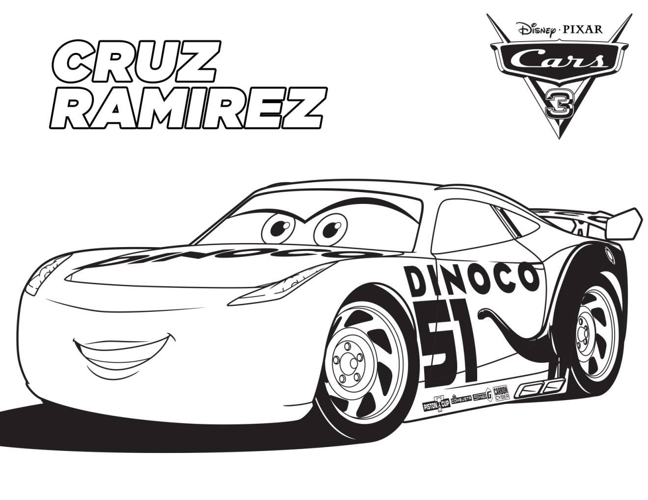 Cars 3 disney disegni da colorare for Disegno di cars 2 da colorare