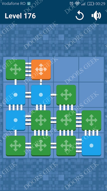 Connect Me - Logic Puzzle Level 176 Solution, Cheats, Walkthrough for android, iphone, ipad and ipod