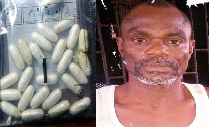 Photos: Man arrests man with 270g Cocaine At Lagos Airport