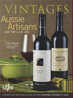 Cover of October 13, 2012 LCBO Vintages Wine Magazine