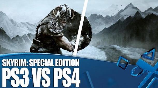 Perbandingan Grafis Antara Game The Elder Scrolls V Skyrim Special Edition Versi PS4 dengan PS3