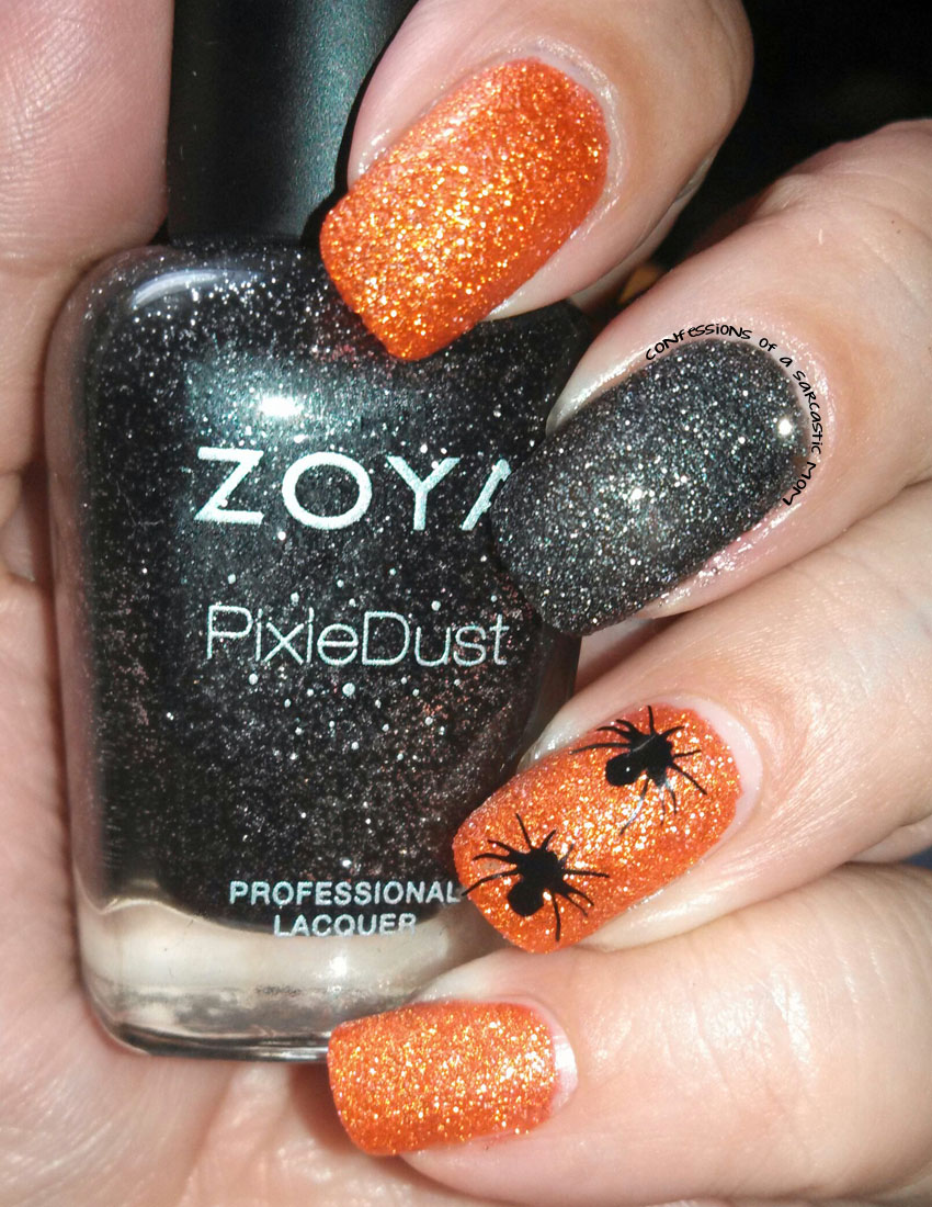 Some Throwback Nail Art With Zoya And Vynails Confessions Of A