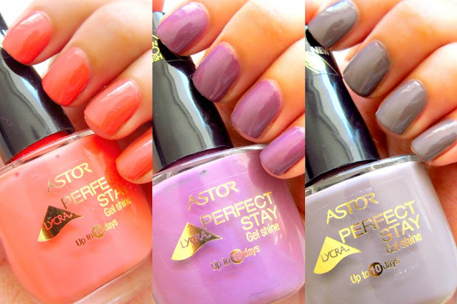 Astor Perfect Stay Gel Shine Nail Polishes