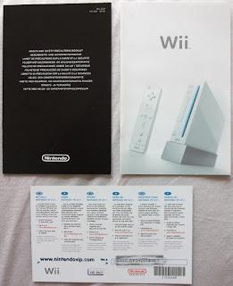 The Legend of Zelda - Twilight Princess - Tarjeta y folletos