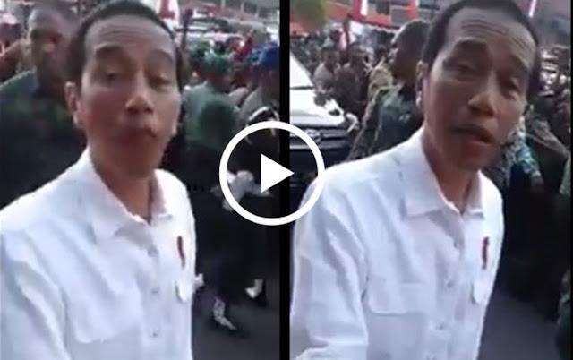 Yuk Lihat! VIDEO Jokowi Langsung Kabur Saat Disuruh Rakyat Turunkan Tarif Dasar Listrik