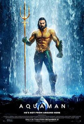 Poster Aquaman 2018 Dual Audio HD 720p