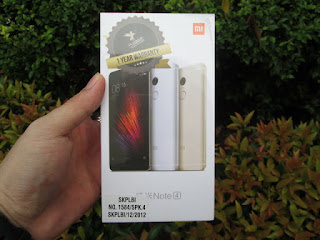 Xiaomi Redmi Note 4 3/64 4G LTE Ram 3GB Camera 13MP Fingerprint