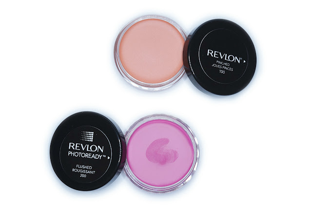 Revlon PhotoReady Cream Blush in 100 Pinched and 200 Flushed