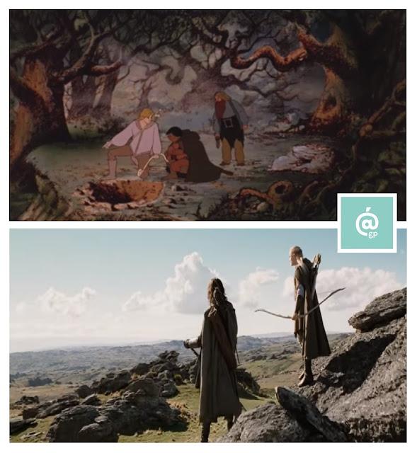 El Señor de los Anillos: Peter Jackson Vs Ralph Bakshi / Fidelidad al libro- ÁlvaroGP - el fancine - el troblogdita