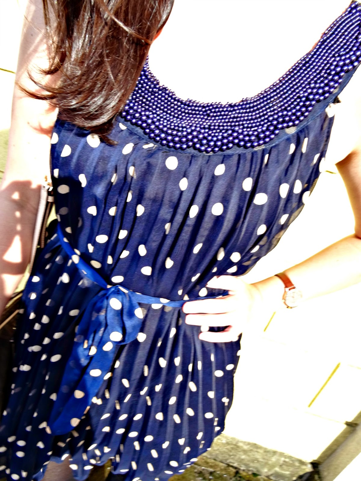 Polka Dot New Look dress