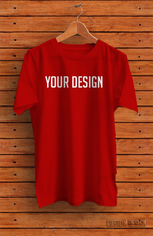Download T-shirt Mockup PSD Terbaru Gratis - T-shirt PSD Mockup