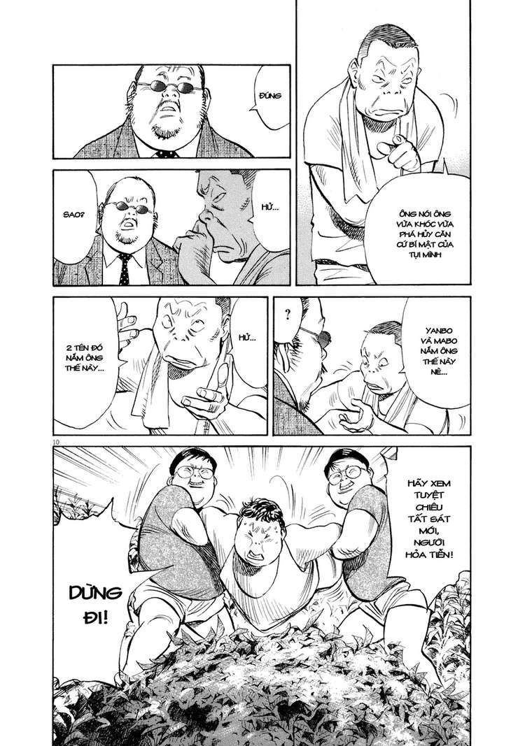 20th Century Boys chapter 234 trang 21