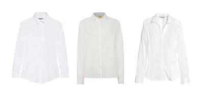 Белые рубашки с вытачками для капсульного гардероба