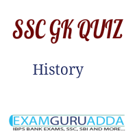 SSC Previous year History Questions