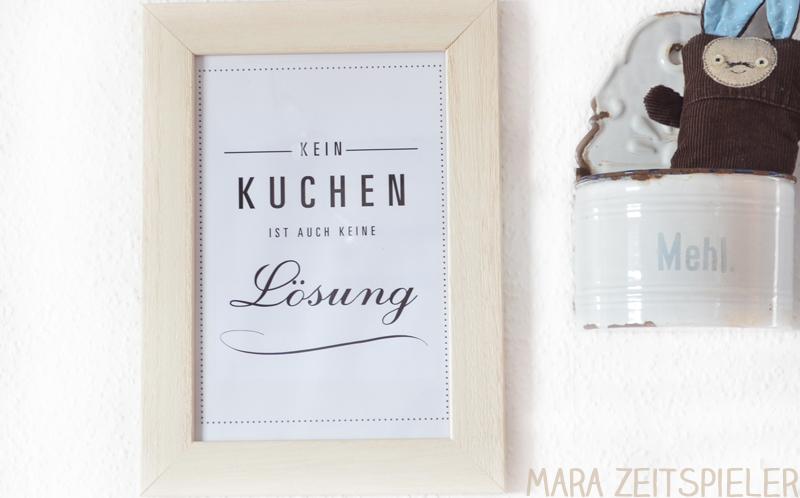 Ein neues Bild für die Küche ~ Mara Zeitspieler