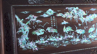 tranh gỗ khảm