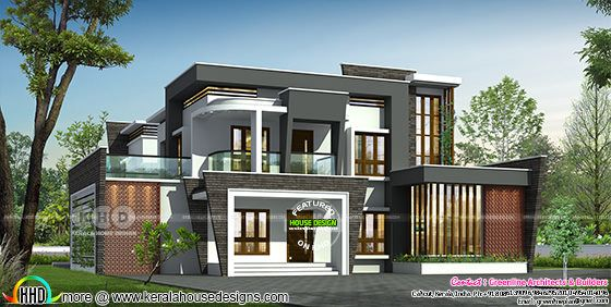4 bedroom contemporary house in 4391 sq-ft