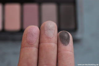 CATRICE The Nude Blossom Collection Eye Shadow Palette - Swatch - www.annitschkasblog.de