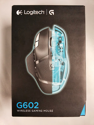 Unboxing Review Logitech G602 Wireless Gaming Mouse