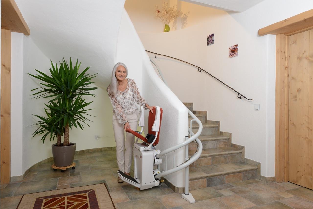 alpha silla para escaleras curvas On sillas para escaleras curvas