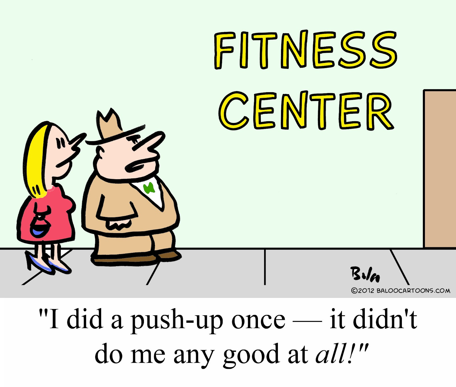 Baloo 39 s non political cartoon blog fitness cartoon - Fitness cartoon pics ...