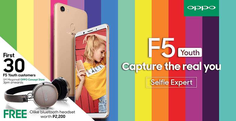 OPPO F5 Youth official