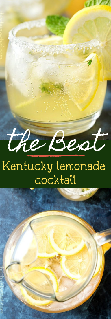 Kentucky lemonade cocktail #healthydrink #easyrecipe
