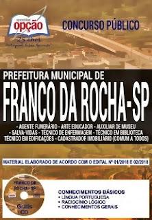 Apostila Concurso Prefeitura de Franco da Rocha 2018