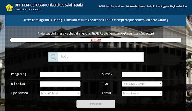 Screenshot 2 - Membaca Nyaman dan Santai dengan Nuansa Modern di Perpustakaan Unsyiah