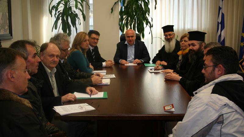 Σύσκεψη για την επίσπευση των εργασιών του νέου Γηροκομείου Αλεξανδρούπολης