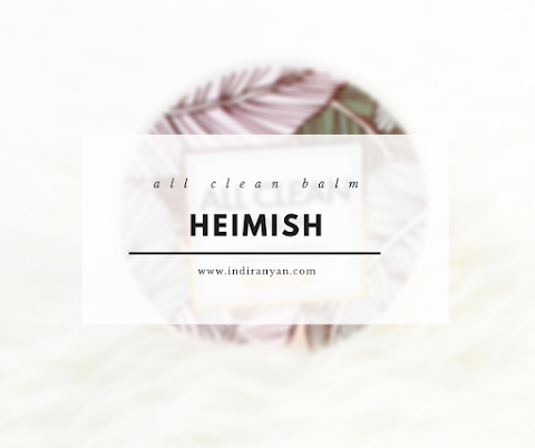 [REVIEW] Heimish - All Clean Balm*