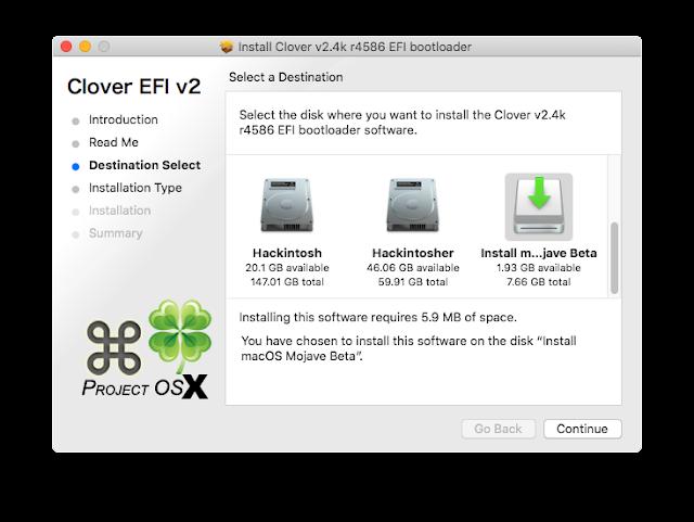 Hướng dẫn tạo USB bootable hackintosh với Clover
