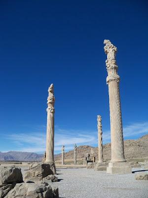 Persepolis Antik Kenti,sütunlar