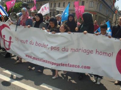 Collectif des Citoyens Musulmans pour l'Enfance, Manif pour tous à Lyon, 2013