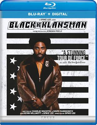 Blackkklansman Blu Ray