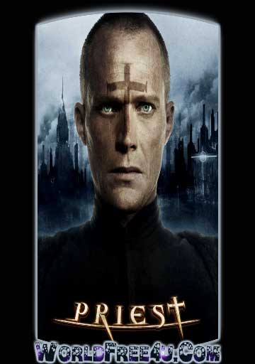 Poster Of Priest (2011) In Hindi English Dual Audio 300MB Compressed Small Size Pc Movie Free Download Only At worldfree4u.com