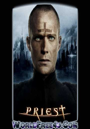 Poster Of Priest In Dual Audio Hindi English 300MB Compressed Small Size Pc Movie Free Download Only At worldfree4u.com