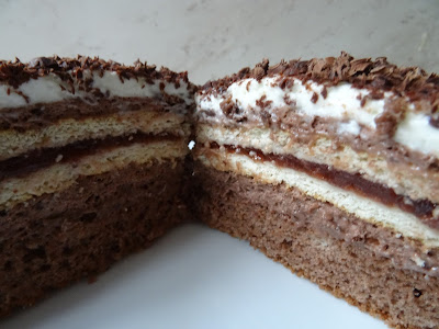 Ciasto czekoladowe z herbatnikami