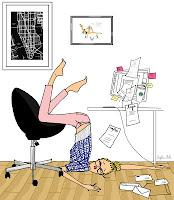 fête des mères maman working girl stressée