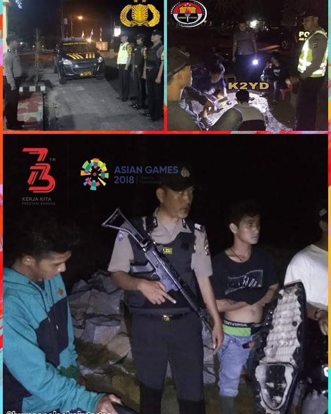 Patroli Kegiatan Kepolisian Yang Ditingkatkan (K2YD) Polsek Air Gegas