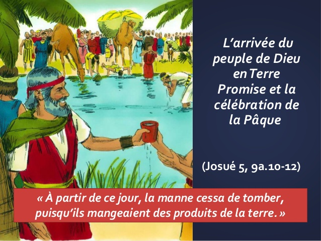 "Moïse : diaporama ""L'arrivée de Moïse en terre promise"""