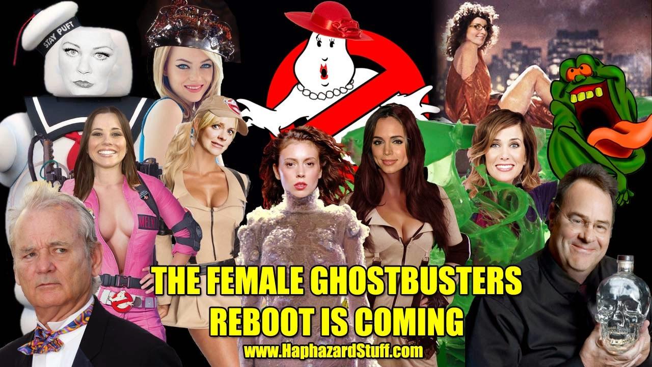 Ghostbusters reboot all female cast Kristen Wiig Melissa McCarthy
