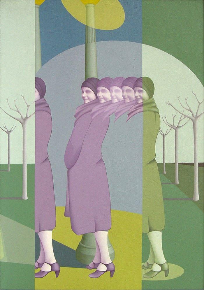 Аргентинский художник. Federico Duret