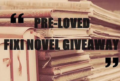 PRE LOVED FIXI NOVEL GIVEAWAY